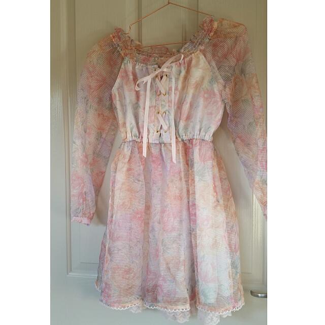 Liz Lisa Floral Dress
