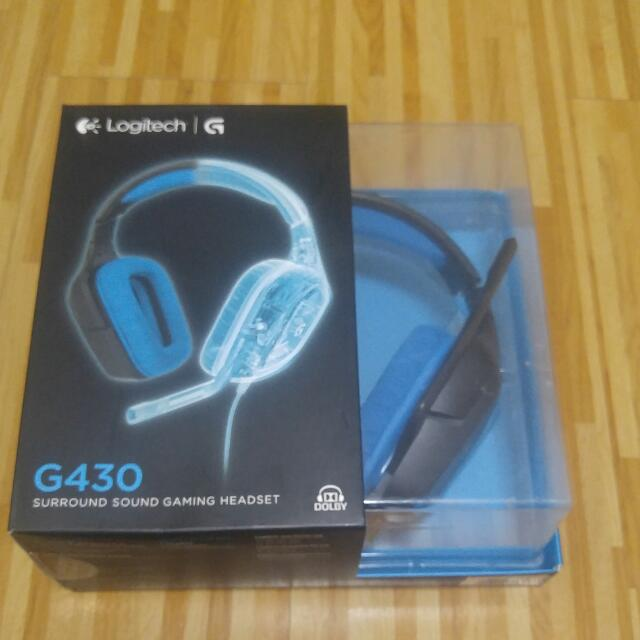 9f823b7ecb5 Logitech G430 Surround Sound Gaming Headset, Electronics, Computer ...