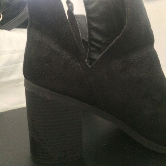London Rebel Heeled Boots