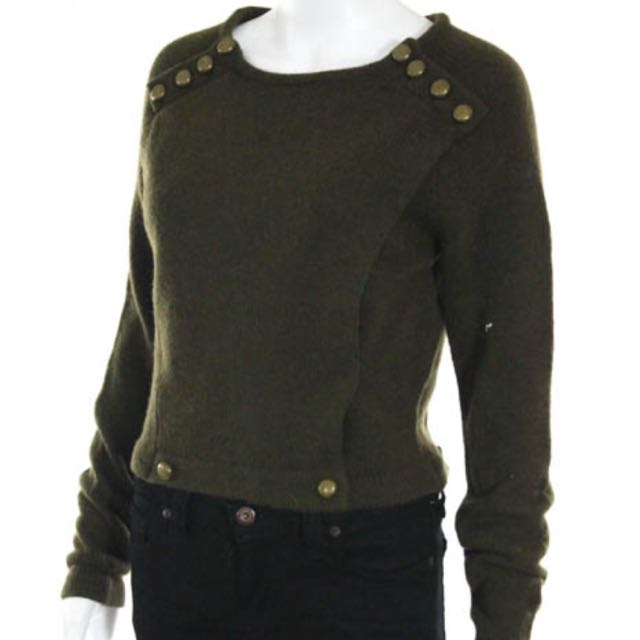 Marc By Marc Jacobs Olive Green Sweater