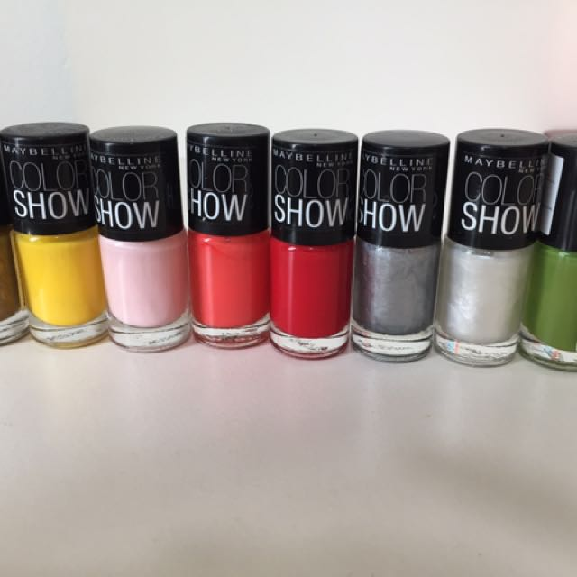Maybelline Color show Nail Polish, Health & Beauty, Hand & Foot Care ...