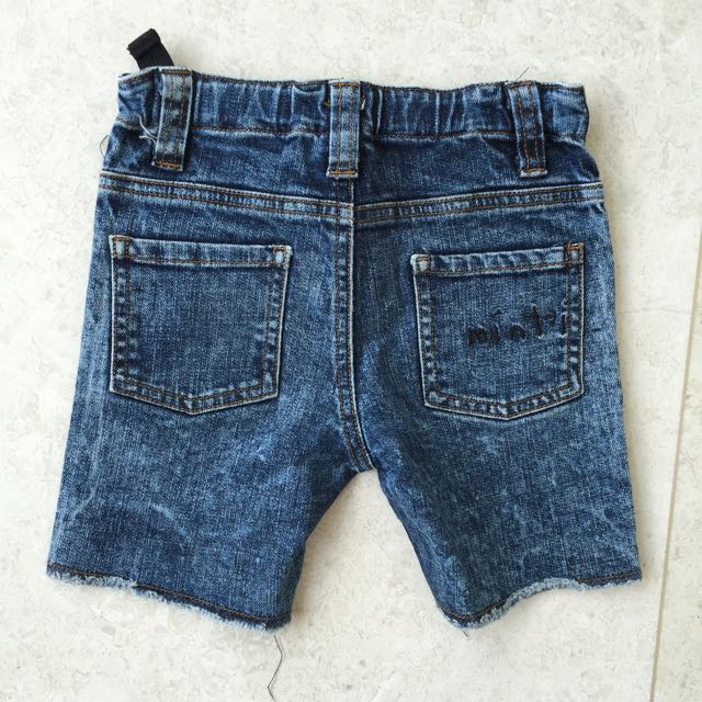 Minti Boys Denim Shorts Size 3-4