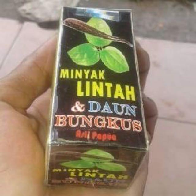 Minyak Lintah & Daun Bungkus