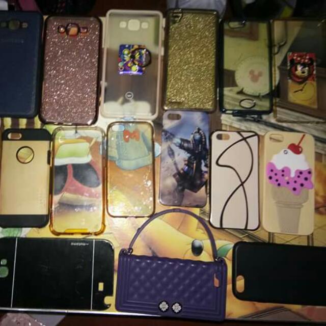 My Preloved Case For sale 😂 avilable cases. - Iphone 5'5s ,6'6s - samsung note 2 , samsung E7 , Samsung A7 2016 , samsung A5 2016 , samsung J72015 - Oppo F1f - Lg G3
