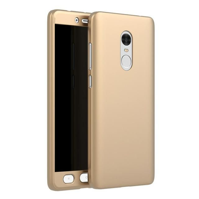 Case Xiaomi Redmi Note 4 Full Body Gratis Tempered Glass