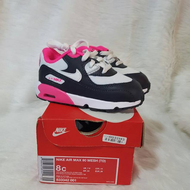 Nike Air Max 90 Baby Rubber Shoes Baby Girl Toddler Kid