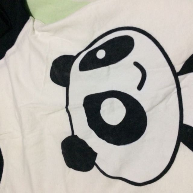 Panda Crop Top