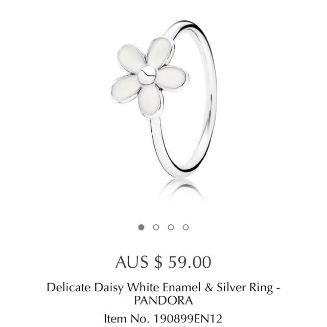Pandora Daisy Stackable Ring
