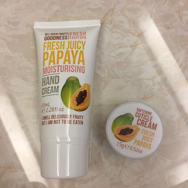 Papaya Hand Cream Dan Cuticle Cream