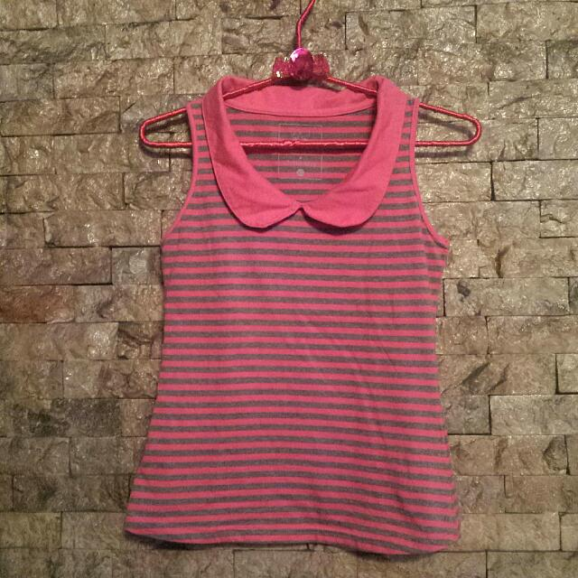 PeterPan Collared Top