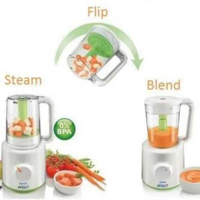 Phillips Avent Blender And Steamer