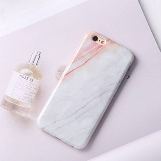 Pink Marble iPhone 7plus Casing