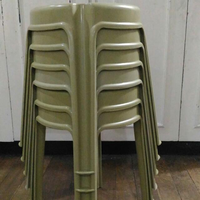 Plastic Chair Stool