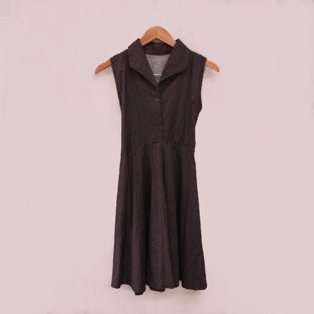 Polka 90's Dress