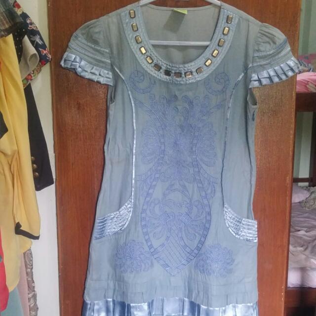 Ray Blue Dress