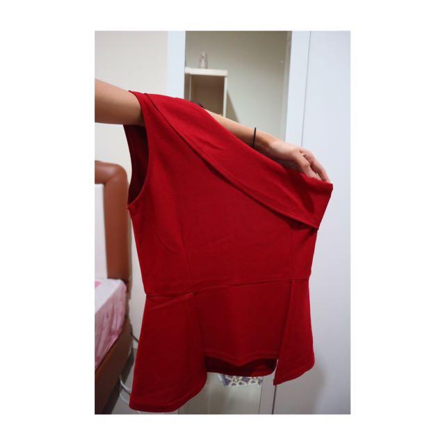 Red Korean Shirt