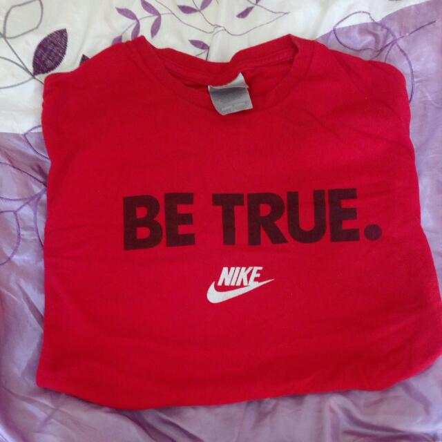 Red Nike T-shirt