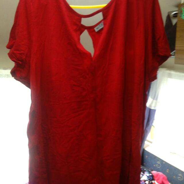 Red Wild Child Shirt