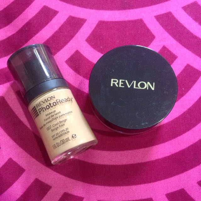 Revlon Foundation And Powder