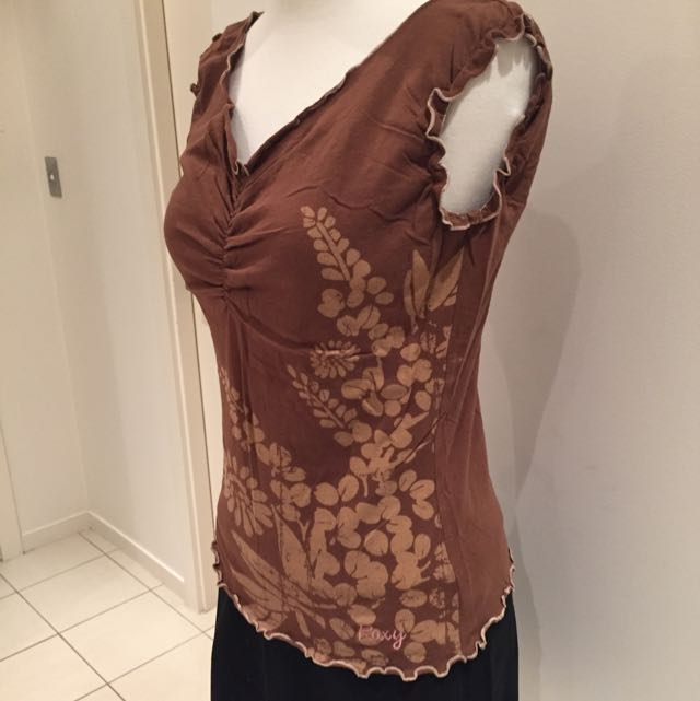 Roxy Floral Top- Size 10