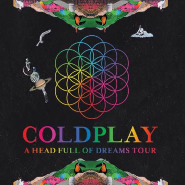 Rush Sale Until 4PM!! COLDPLAY TIX!! S$300 ONLY!!!