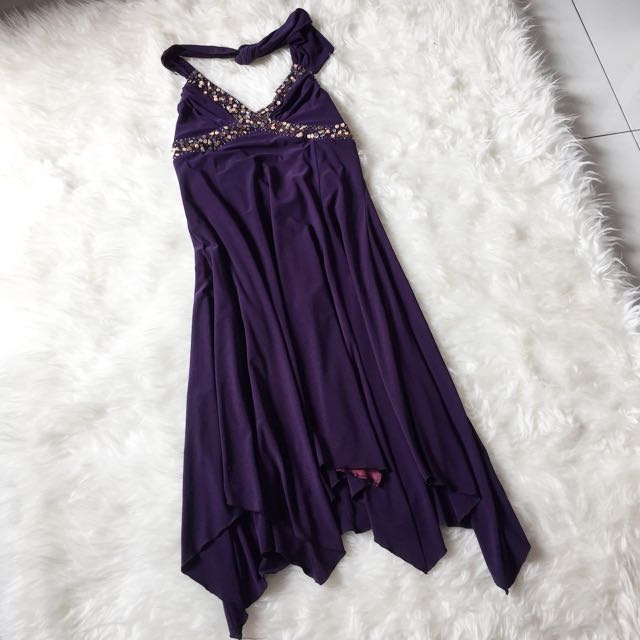 Short Dress Purple Size M
