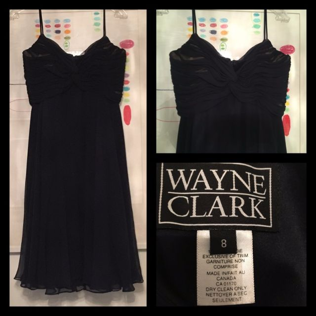 Size 8 - Vintage Wayne Clark cocktail dress
