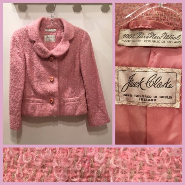 Size M - Vintage boucle jacket