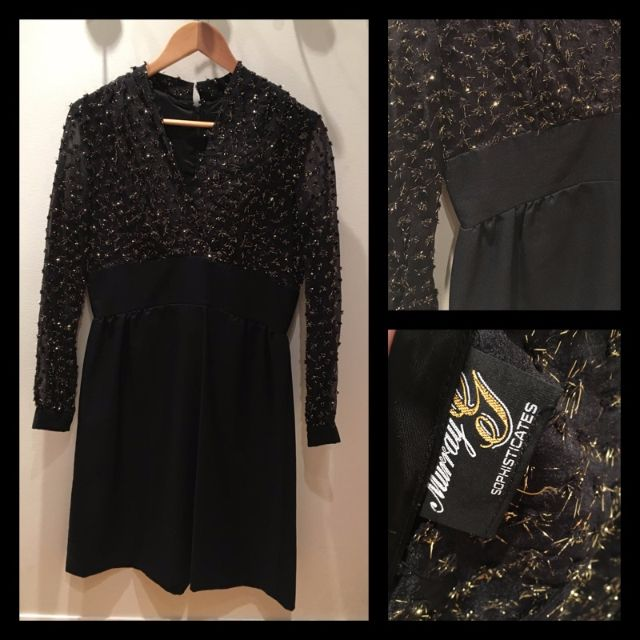 Size M - Vintage cocktail dress
