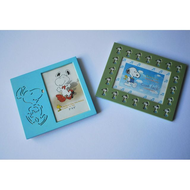 Snoopy picture frames