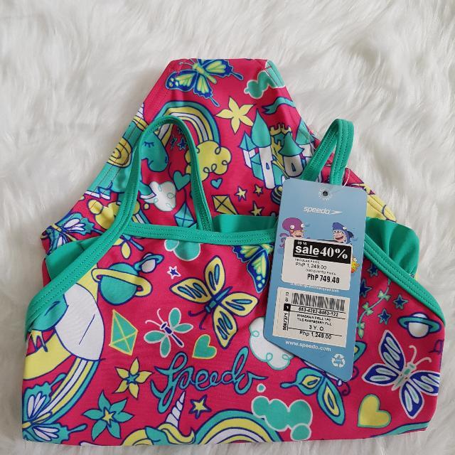 Speedo Swimsuit Swimwear Baby Toddler Kid Girl