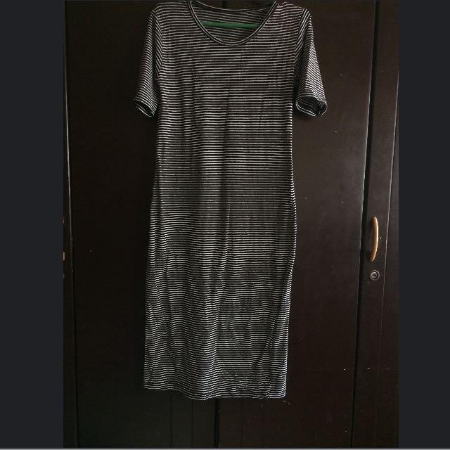 Repriced Striped Dress