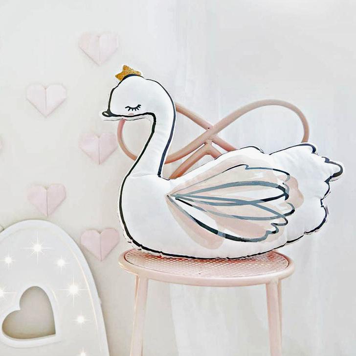 Swan Pillow Ballet Girl Pillow Cushion Doll Gift Birthday Gift