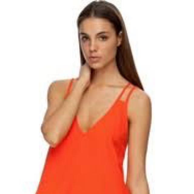 the fifth don't look back dress In ORANGE size S