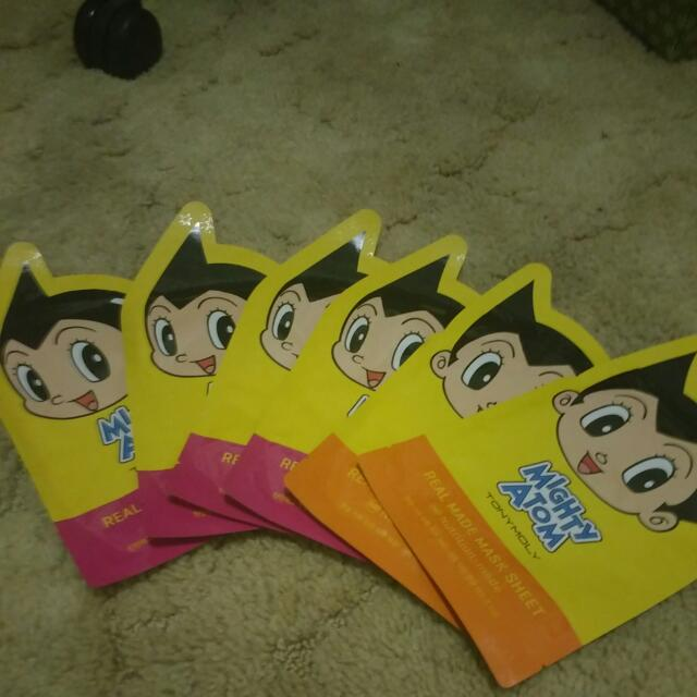 Tony Moly Mighty Atom Sheet Masks