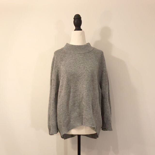 Unique Designed Grey Sweater