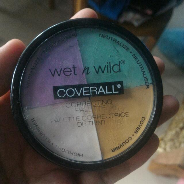 Wet And Wild Correcting Palette