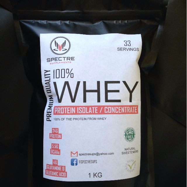 WHEY PROTEIN ISOLATE / CONCENTRATE BLEND 1KG