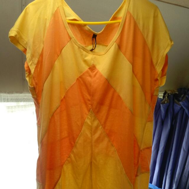 Yellow And Orange Top