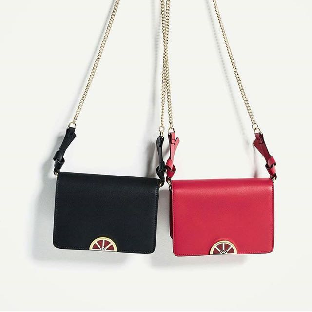 Zara Fruit detail Crossbody