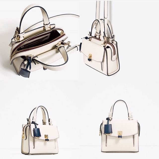 Zara Mini City With Lock Crossbody