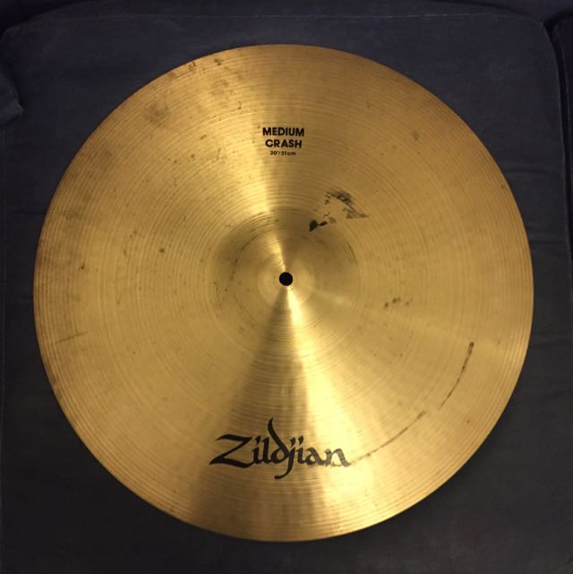 "Zildjian Medium Crash 20"""