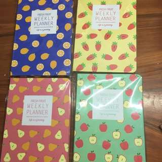 Fresh Fruit Weekly Planner