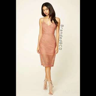 ON SALE! Forever 21 Limitted Edition Netted Mesh Dress