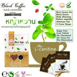 Black Coffee + L Carnitine