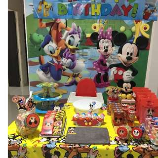 Mickey Mouse Party Items