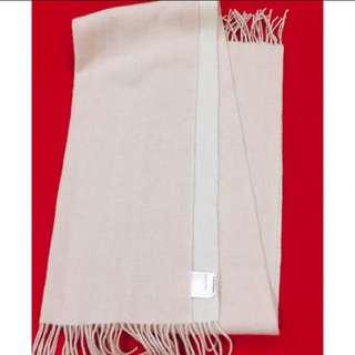 全新 Club Monaco 100%羊毛圍巾 雙色