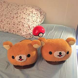 Rila Kuma Teddy Bear House Slippers Shoes