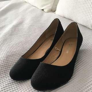 Small Black Heels