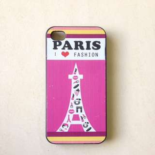 Paris IPhone 4/4s Hard Cover Case